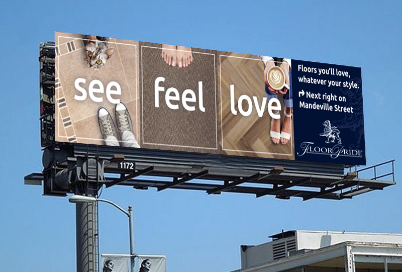 Floorpride billboard